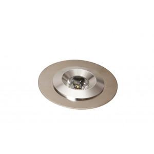Spot LED alu 65      1W/12V DC - IP 65