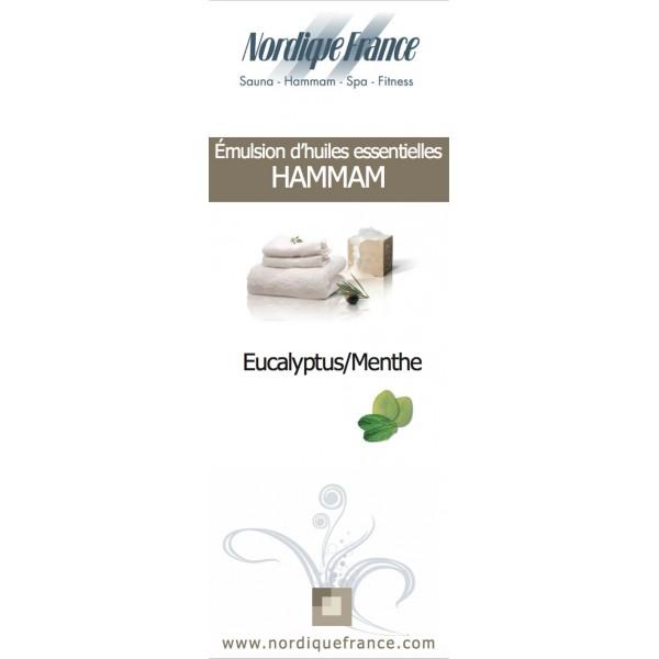 Huiles essentielles eucalyptus menthe nordique france - Huiles essentielles sauna ...