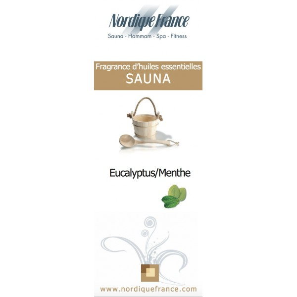 Fragrance d 39 huiles essentielles sauna euca menthe - Huile essentielle pour sauna ...