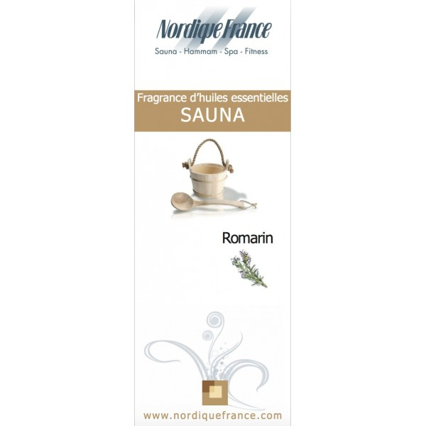 Huiles essentielles romarin sauna nordique france - Huile essentielle sauna ...